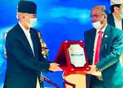 Nepal Government Felicitates Sh Nand Lal Sharma CMD, SJVN