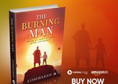Writer Director Lomharsh has been awarded for his book the burning man
